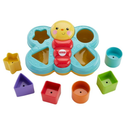 Mattel Fisher Price Sortierspaß Schmetterling