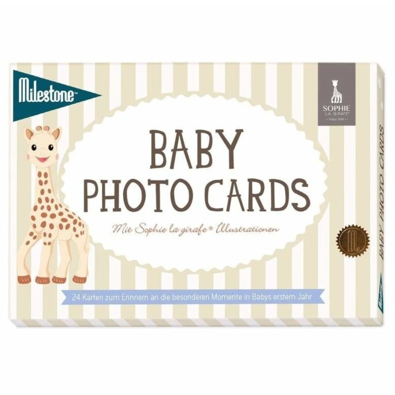 Baby Photo Cards von Milestone™- Sophie la girafe