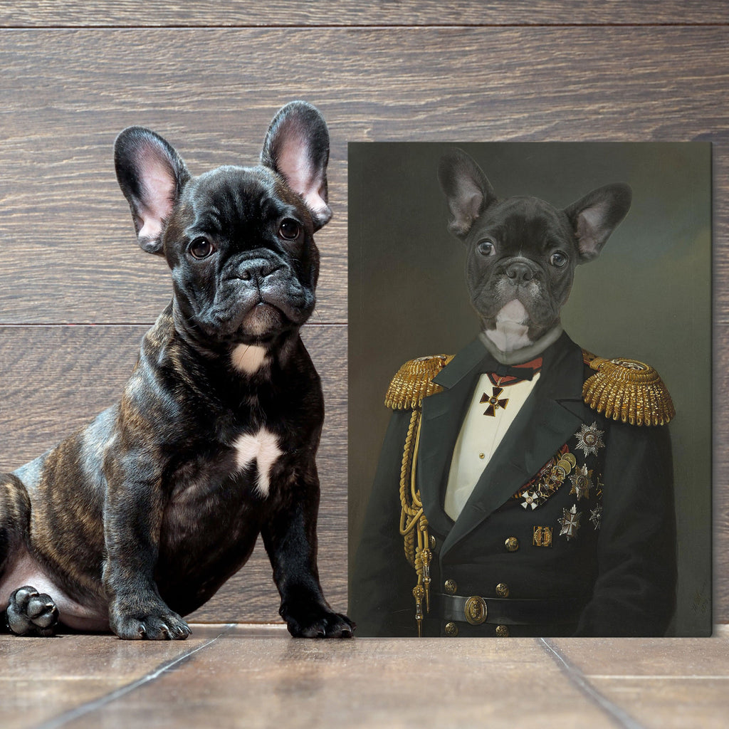 The Admiral Renaissance Era - Personalized Canvas - KutePaw