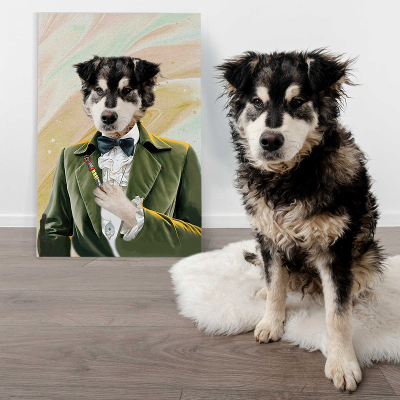 The Third Dogter  - Personalized Canvas - KutePaw