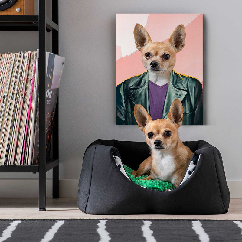 The Tenth Dogter - Personalized Canvas - KutePaw