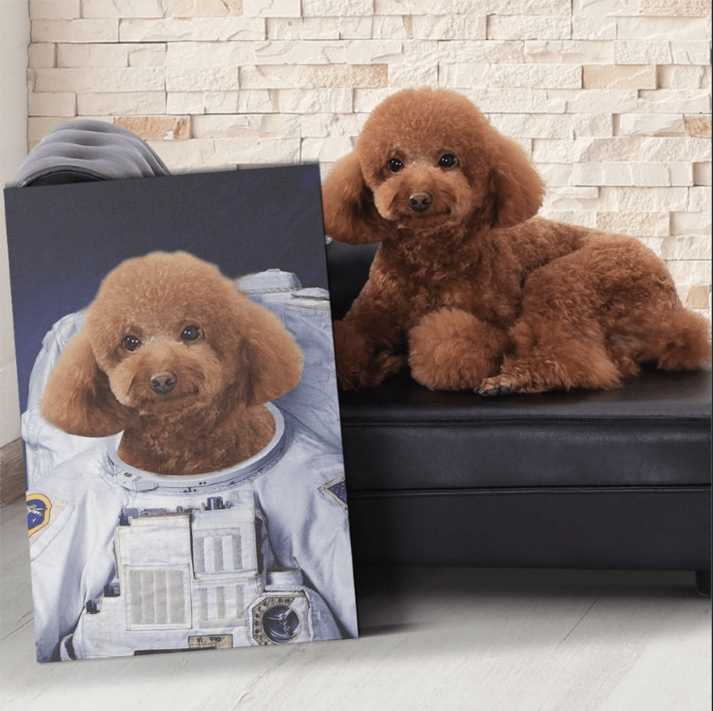 The Astronaut - Personalized Canvas - KutePaw