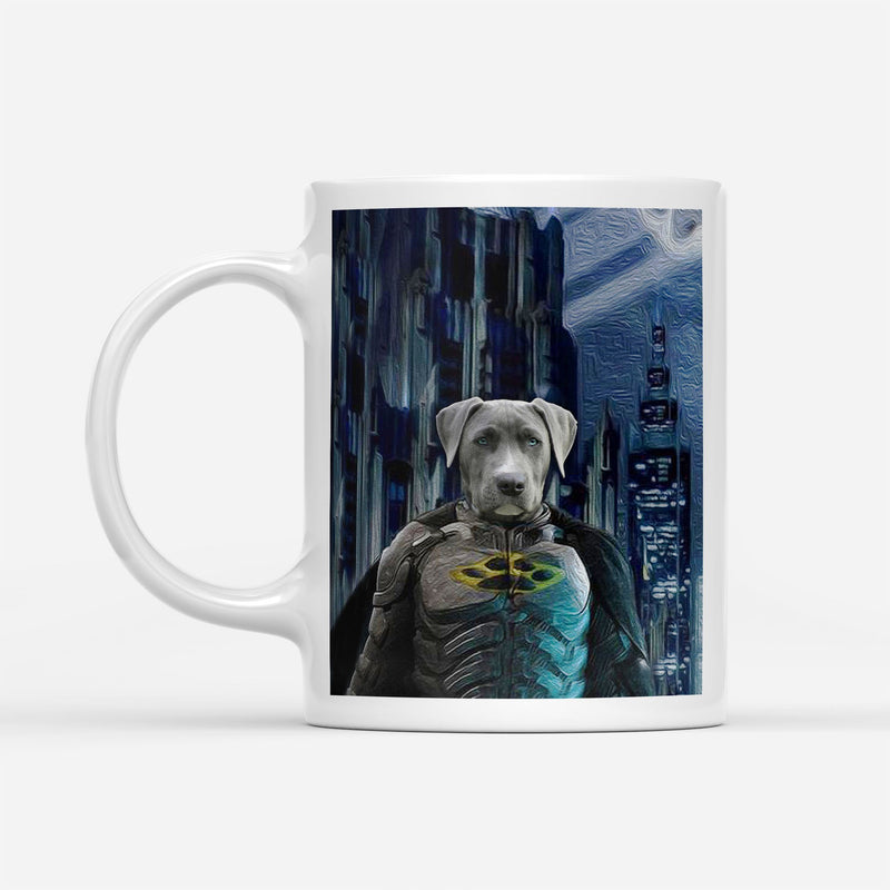 The BatDog - Custom Pet Portrait Mug - KutePaw