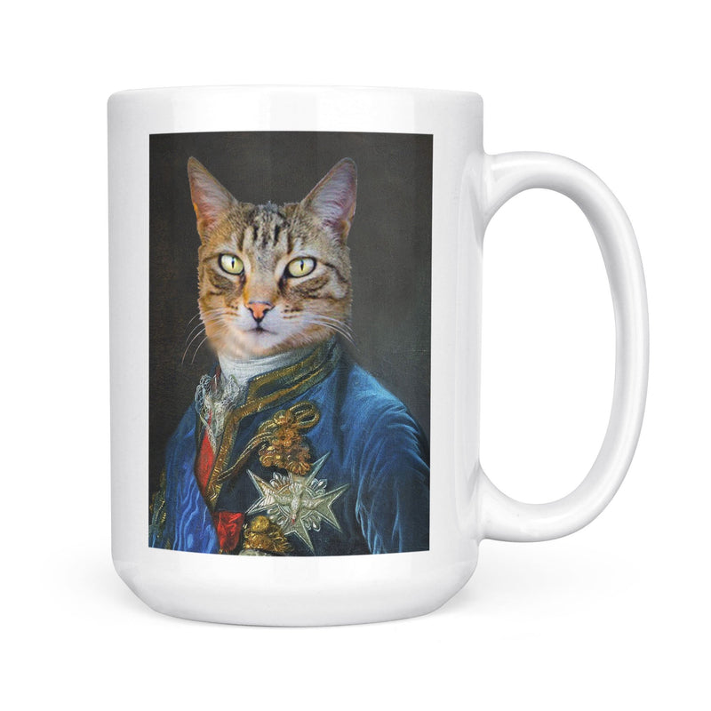 The Count Renaissance - Personalized Mug - KutePaw