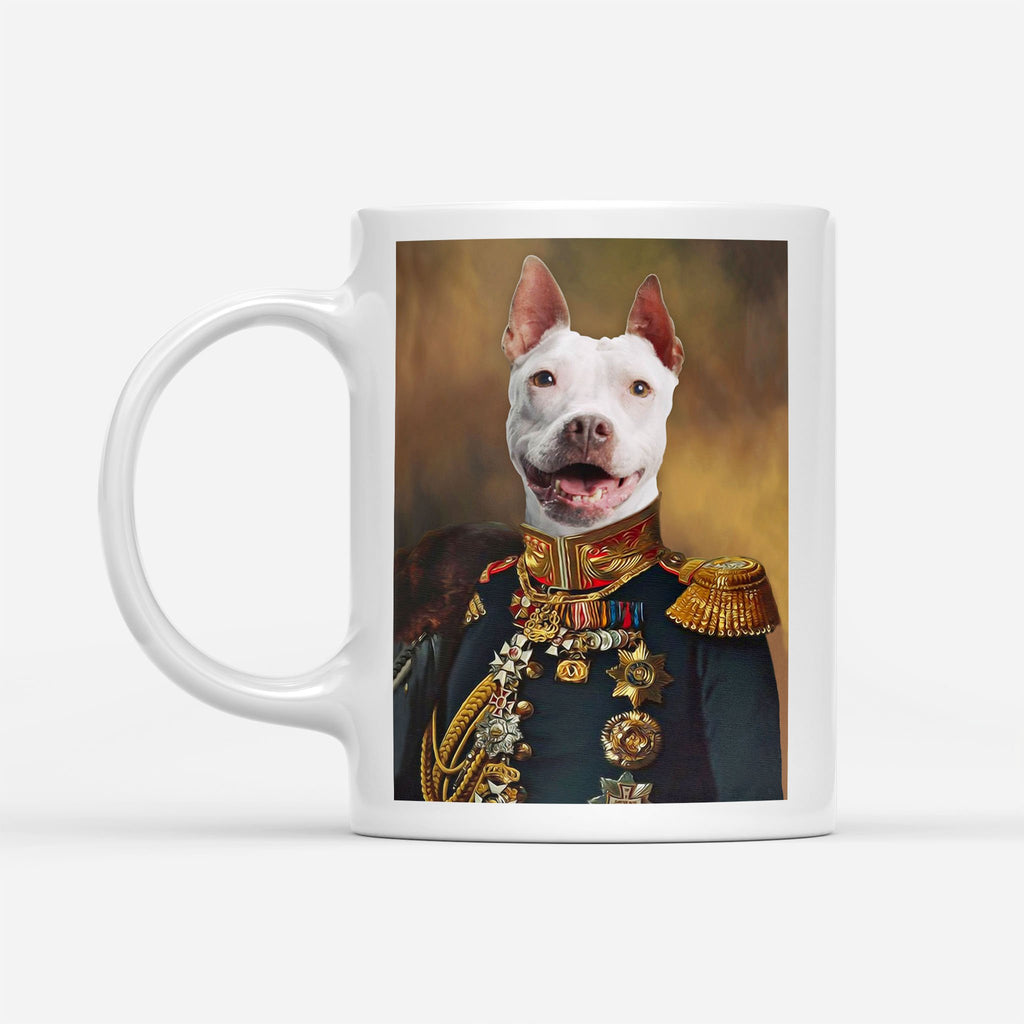 The General - Personalized Pet Portrait Custom Mug Gift for Dog Cat Lovers