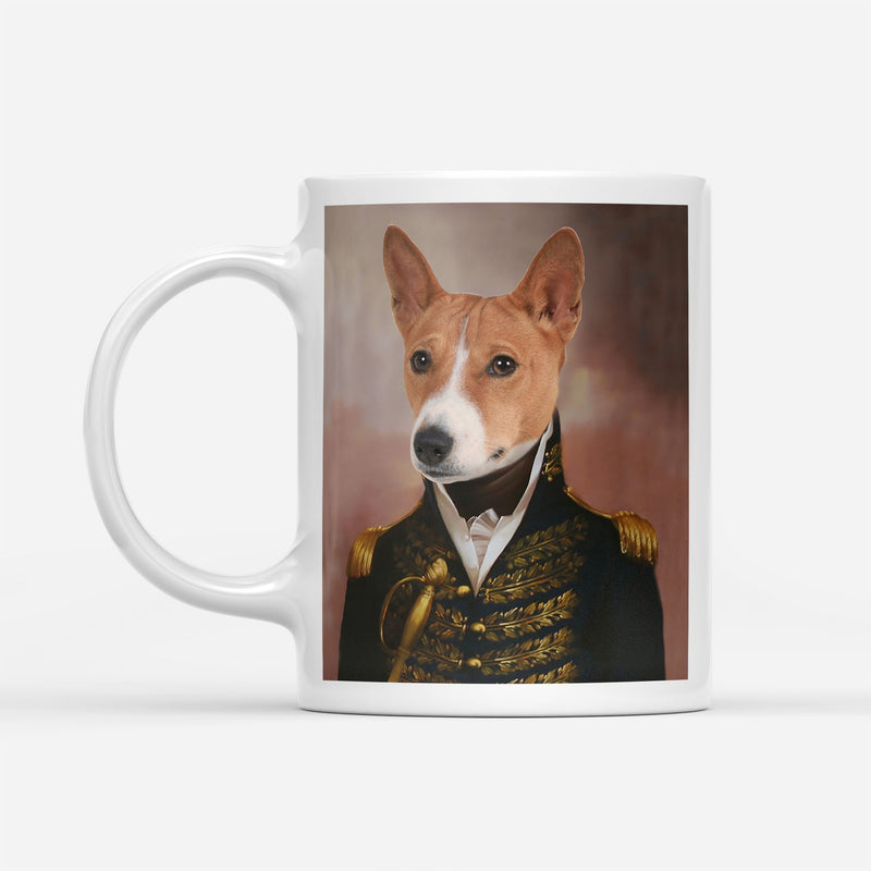 Custom Pet Portrait - The General - Personalized Mug - KutePaw