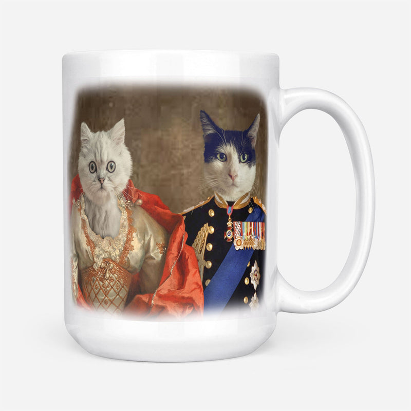 Royal Couple - Personalized Mug - KutePaw