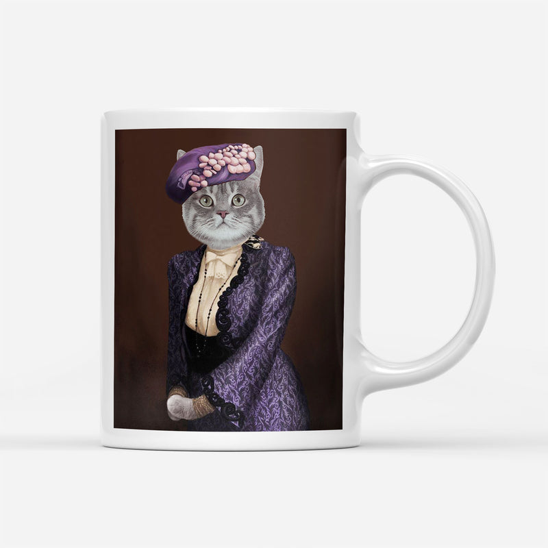 Custom Pet Portrait - Violet Pawley - Personalized Mug - KutePaw