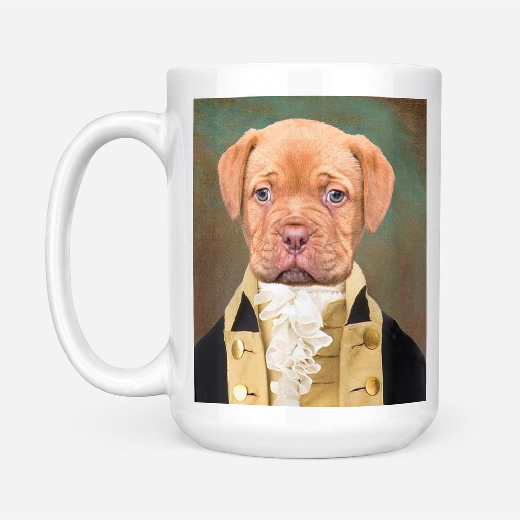 CONTINENTAL ARMY - Personalized Pet Portrait Custom Mug Gift for Dog Cat Lovers
