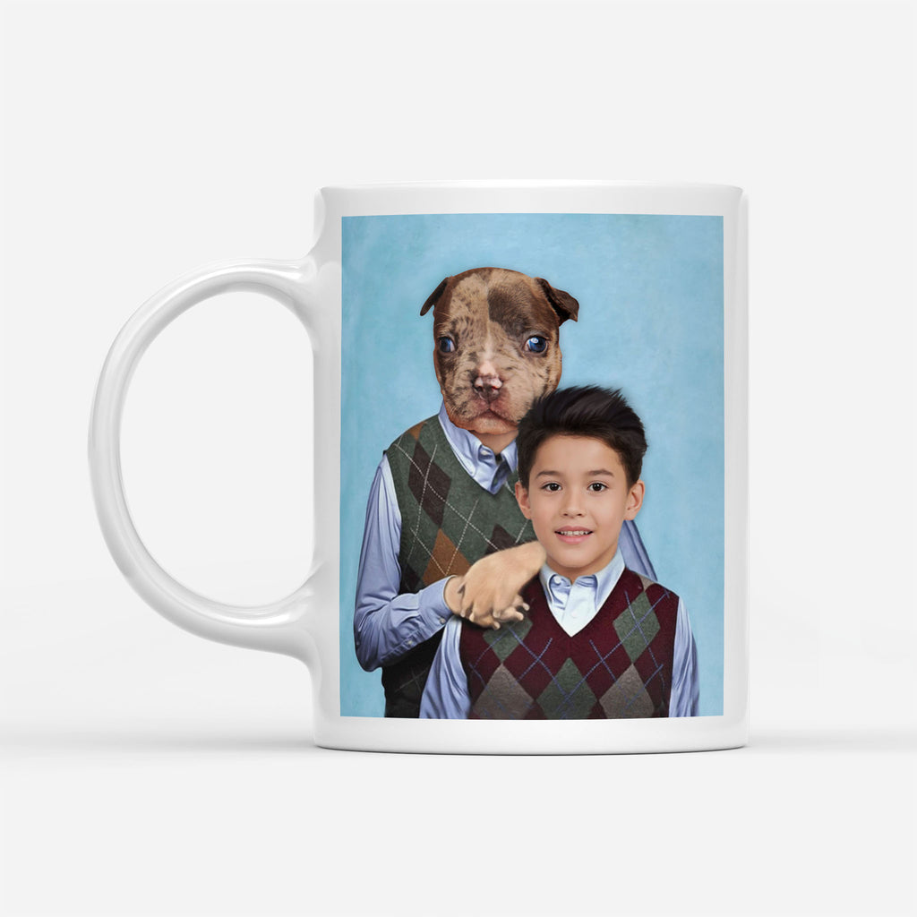 Step Doggos - Personalized Pet Portrait Custom Mug Gift for Dog Cat Lovers