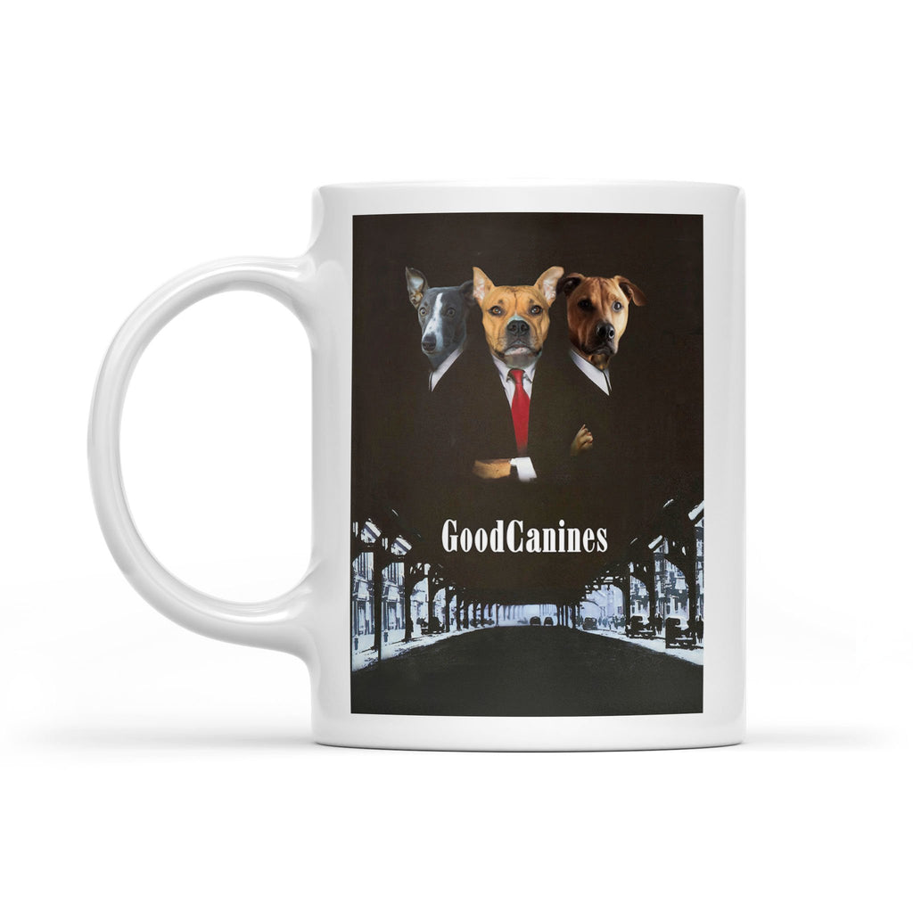 The Good Canines - Personalized Pet Portrait Custom Mug Gift for Dog Cat Lovers