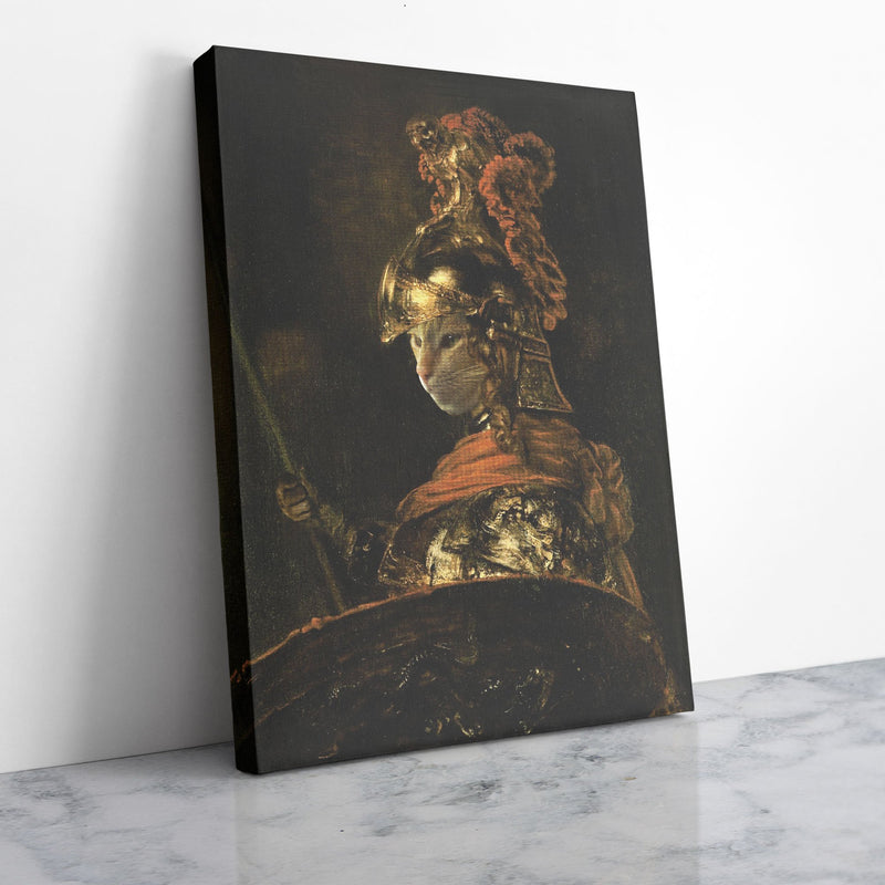 Alexander the Great - Custom Pet Portrait Canvas - KutePaw