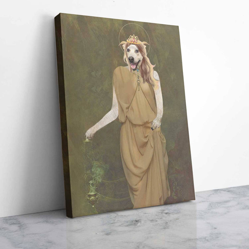 Pythia, The Oracle of Delphi - Personalized Canvas