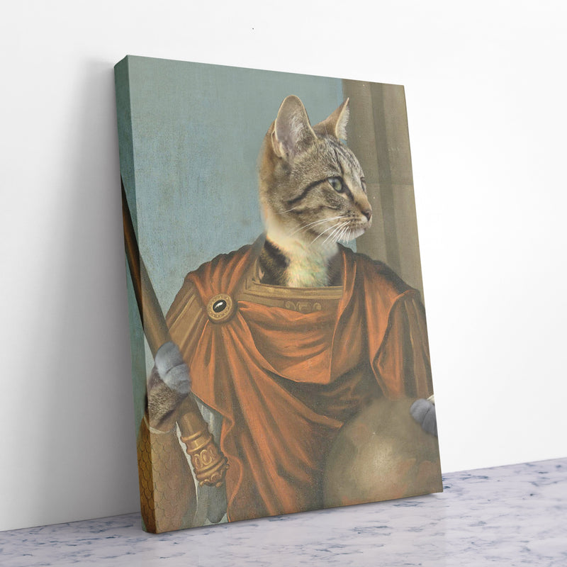 Emperor Augustus - Personalized Canvas - KutePaw