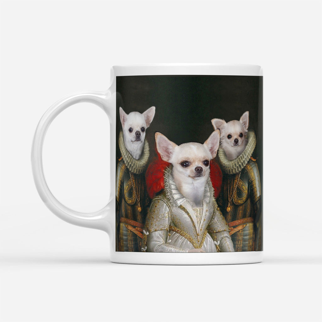 Queen And Guardians - Personalized Mug - KutePaw