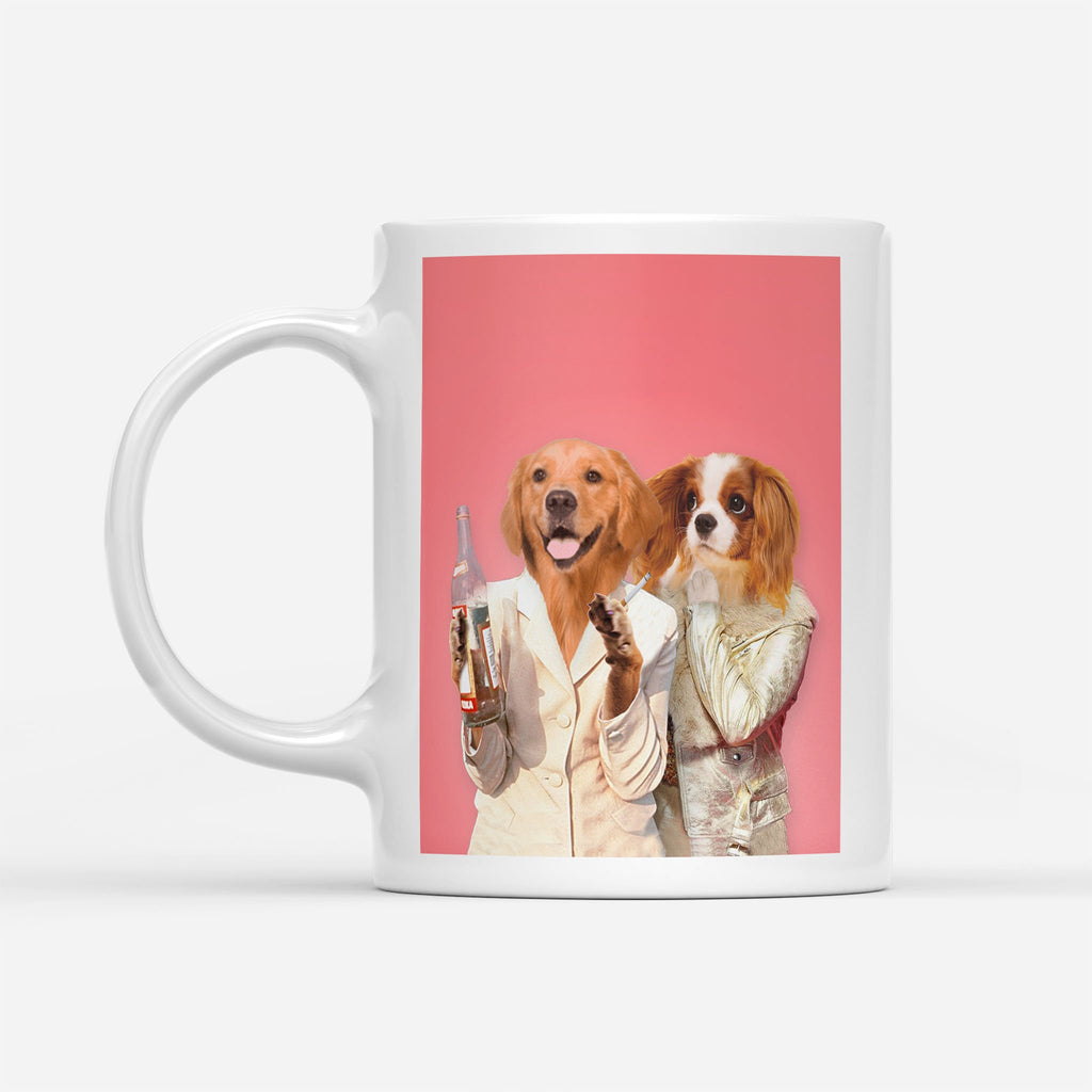 Absolutely Fa-paw-lous - Personalized Pet Portrait Custom Mug Gift for Dog Cat Lovers