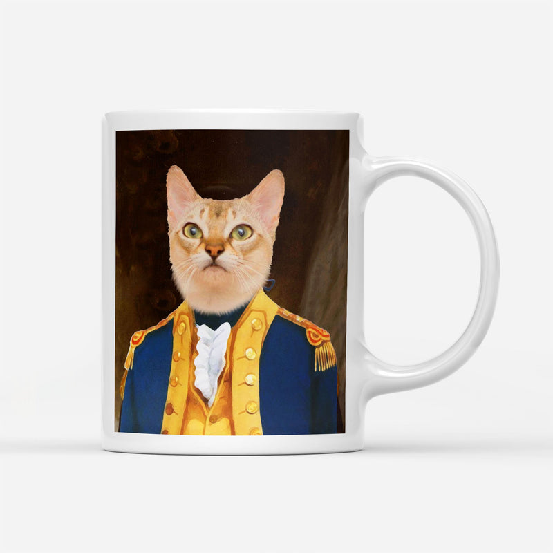 Major General - Custom Pet Personalized - Custom Pet Portrait Mug - KutePaw