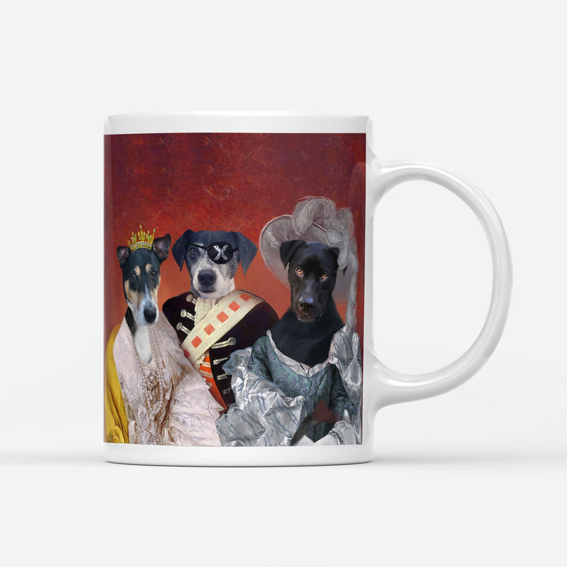 ROYAL FAMILY - Custom Pet Portrait Mug - KutePaw