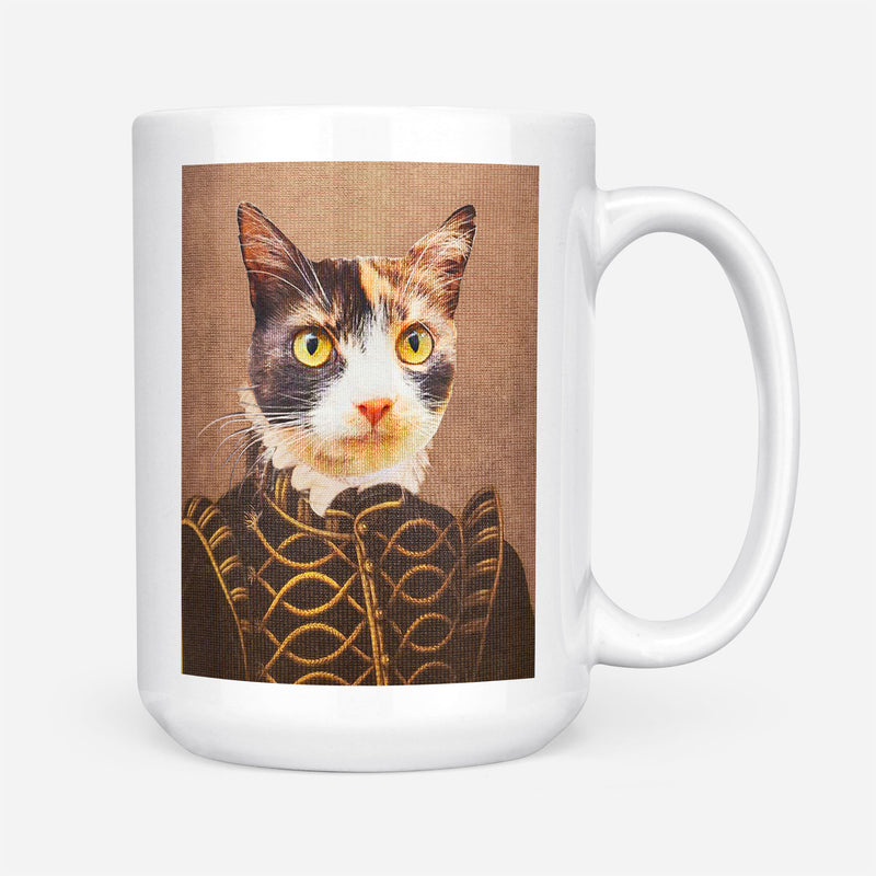 Custom Pet Portrait - The Noble Man - Personalized Mug - KutePaw