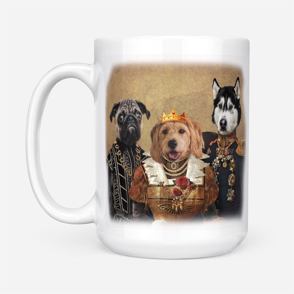 Royal Pets - Personalized Pet Portrait Custom Mug Gift for Dog Cat Lovers