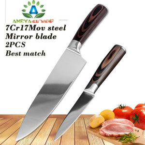 Kitchen Knife Set Stainless Steel - Ameya Home