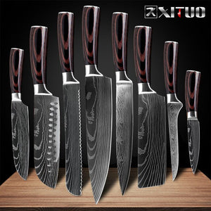 Kitchen Chef Knives Set 8 inch Japanese - Ameya Home