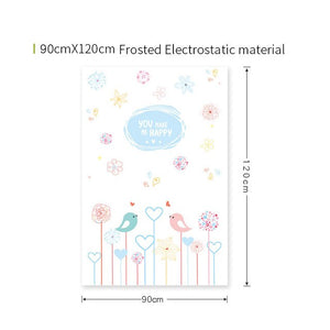 New Design Bird  film stained glass - Ameya Home