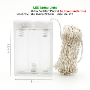 Outdoor LED String Lights - Ameya Home