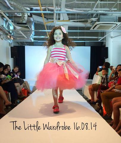 The Little Wardrobe First FASHION RUNWAY SHOW