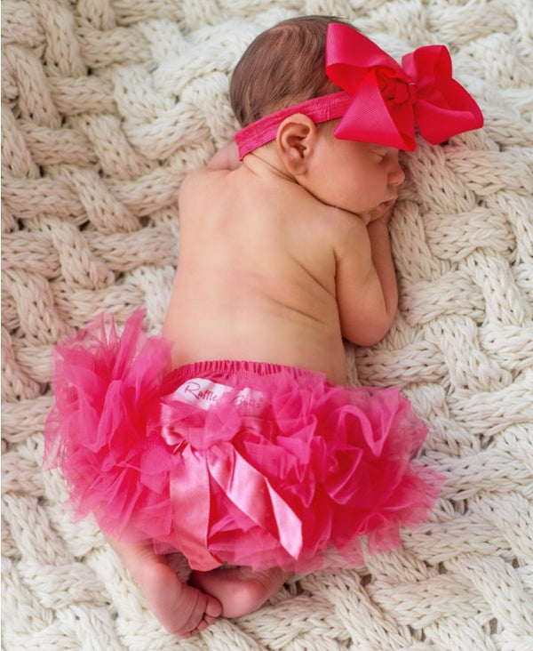 Candy Frilly Knit RuffleButt