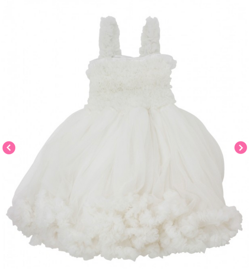 Pale Ivory Princess Petti Dress