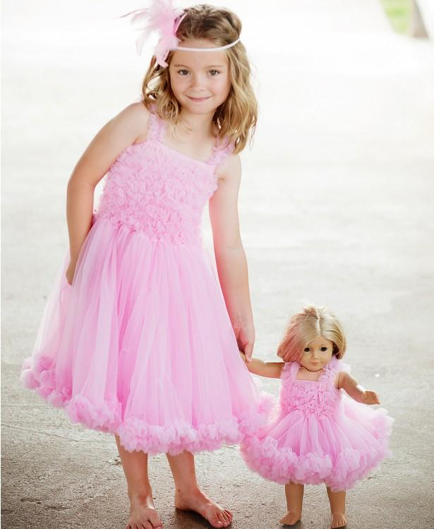 Pink Princess Petti Dress