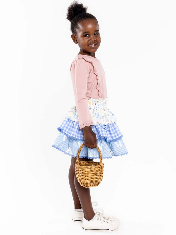 *NEW* HONEY BUNNY TIERED SKIRT