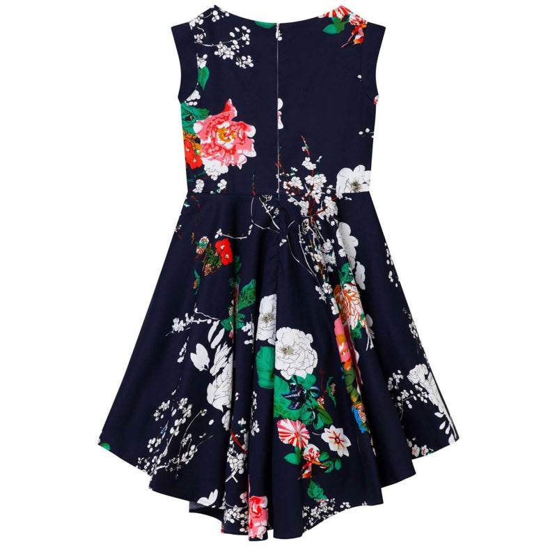 Robin Navy Floral Dress