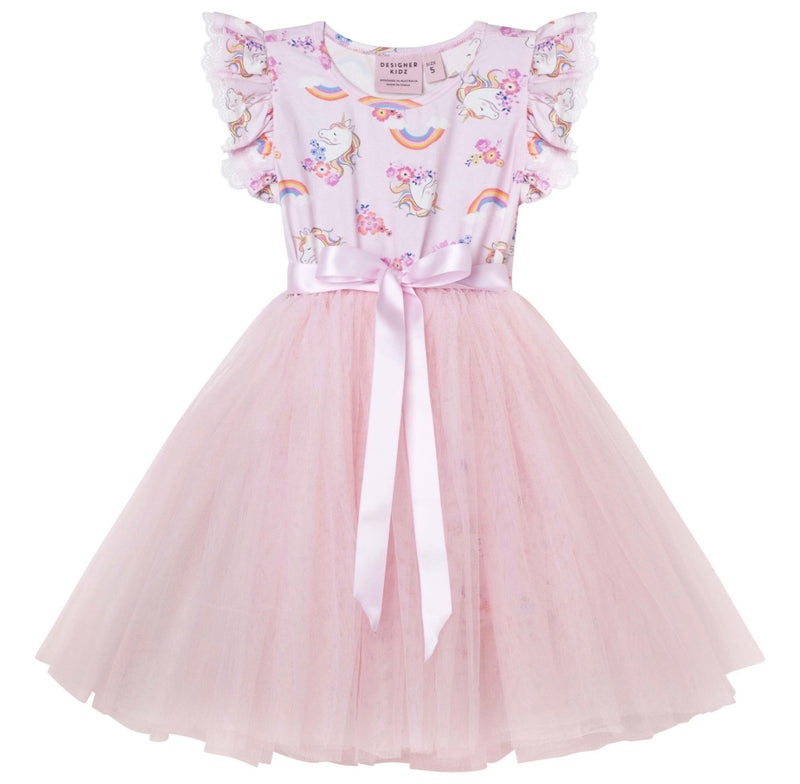 ENCHANTED UNICORN S/S TUTU DRESS
