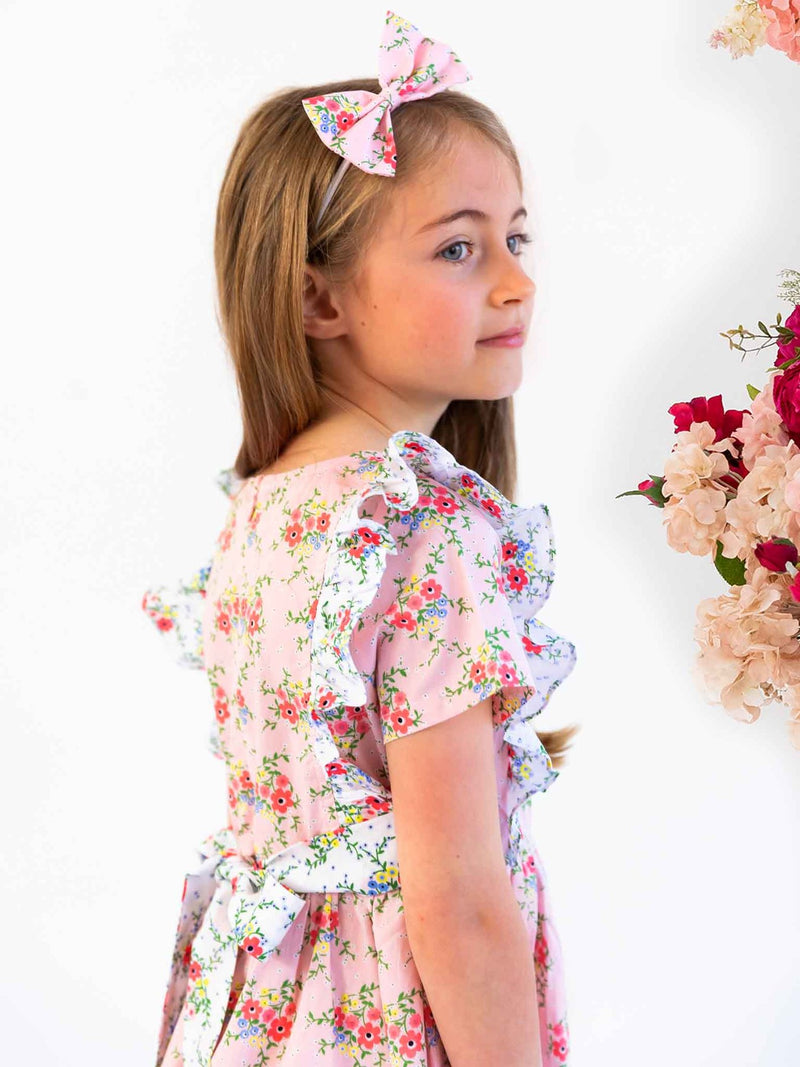 *NEW* PENELOPE PINK DITSY DRESS