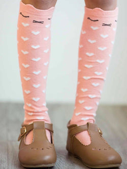 PINK KITTY SOCKS