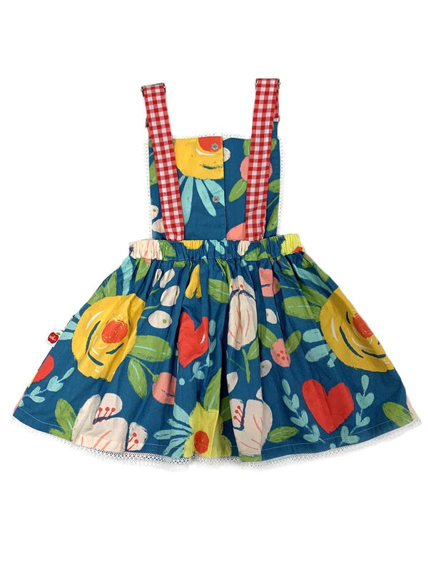 *NEW* Phoebe Wild Hearts Pinafore Dress
