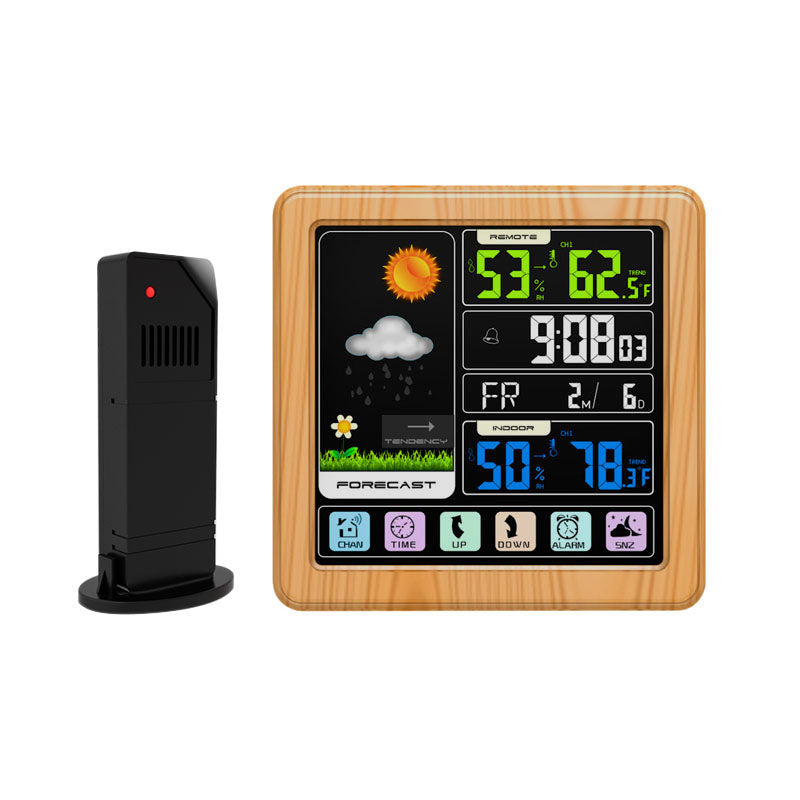 Full Touch Screen Wireless Weather Station