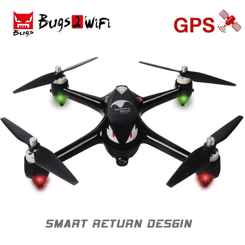 Mystery Stone Bugs 2 Drone RC GPS with Camera 1080P HD