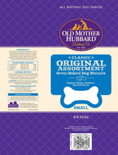 Load image into Gallery viewer, Old Mother Hubbard Crunchy Classic Natural Original Assortment Small Biscuits Dog Treats