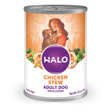 Load image into Gallery viewer, Halo Holistic Adult Chicken Stew Canned Dog Food