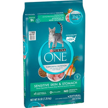 Load image into Gallery viewer, Purina ONE Sensitive Systems Dry Cat Food