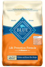Load image into Gallery viewer, Blue Buffalo Life Protection Natural Chicken & Brown Rice Recipe Large Breed Adult Dry Dog Food
