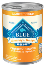 Load image into Gallery viewer, Blue Buffalo Home Style Recipe Large Breed Chicken Canned Dog Food
