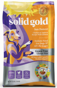 Solid Gold Sun Dancer Gluten Free Dry Dog Food