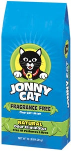 Jonny Cat Unscented Clay Cat litter