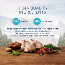 Load image into Gallery viewer, Blue Buffalo Wilderness Grain Free High Protein Chicken Recipe Adult Small Breed Dry Dog Food