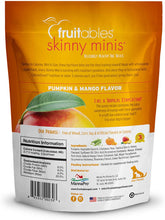 Load image into Gallery viewer, Fruitables Chewy Skinny Minis Pumpkin Mango Flavor Dog Treats