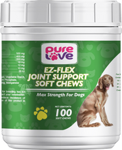 Load image into Gallery viewer, Pure Love Ez-Flex Joint Support Soft Chews for Dogs